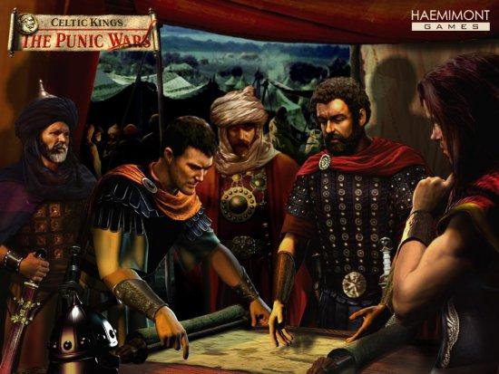 Celtic kings punic wars english