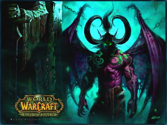 скрины с wow burning crusade: