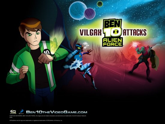 Игру 10 бен force vilgax alien attacks